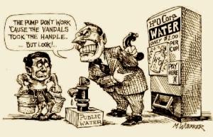 Public water?!?! Socialism!!!!
