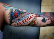 Vegas does have some awesome tattoo artists though...