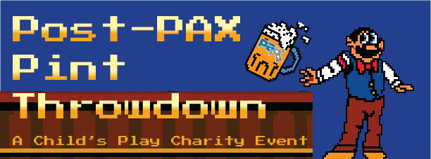 Post Pax Pint Throwdown logo